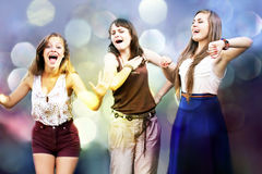 Students girls Royalty Free Stock Images