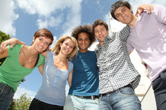 Students group Stock Images