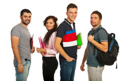 Students group Stock Image