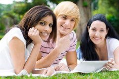 Students group stock photo