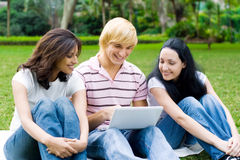 Students group royalty free stock image