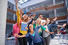 Students group  study Stock Images