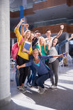 Students group  study Stock Photos