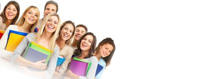 Students group royalty free stock photos