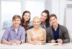 Students having fun at school Royalty Free Stock Photo