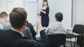 Students interested in lecture - business seminar