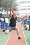 Sports Meeting of Taiyuan No.12 middle school Royalty Free Stock Image
