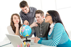 Students Learning Royalty Free Stock Images