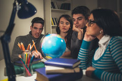 Students Learning Royalty Free Stock Photo