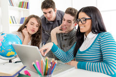 Students Learning Royalty Free Stock Photography