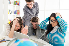 Students Learning Stock Photos