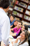 Students in a lecture Stock Photography