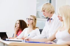 Students at lesson Stock Photos