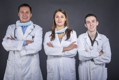 Students of medicine Stock Photography
