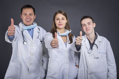 Students of medicine Royalty Free Stock Photography