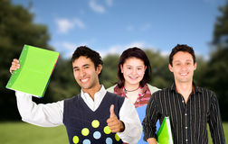 Students outdoors Stock Photos