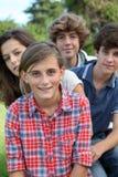 Students portrait stock photo