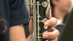 Students practicing in music class (6 of 7. A view or scene of School stock footage