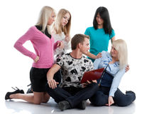 Students prepare for examination Stock Photography