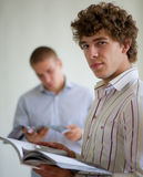 Students read Royalty Free Stock Photography
