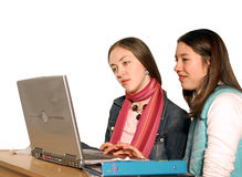 Students revising Royalty Free Stock Images