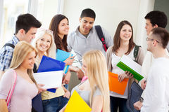 Students at School Royalty Free Stock Photo