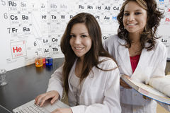 Students In Science Class Stock Photos