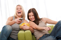 Students series - Two teenage girls Royalty Free Stock Image