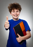 Students showing Ok sign Stock Photography