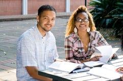 Students study Royalty Free Stock Photo