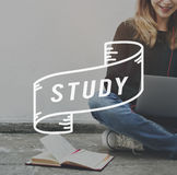 Students Study Hard university School Concept Stock Photo