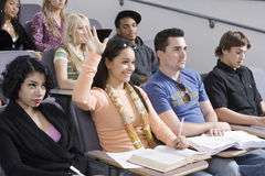 Students Studying Royalty Free Stock Photography