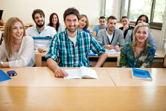 Students studying Stock Photos