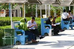 Students of Sulaimaniya University Royalty Free Stock Photography