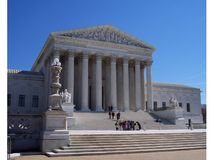 Students at the Supreme Court