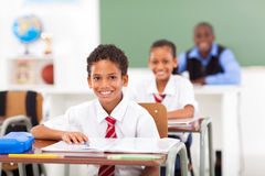 Students teacher classroom Royalty Free Stock Photos
