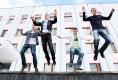Students to complete academic year Royalty Free Stock Image