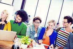 Students University Learning Communication Concept Stock Image