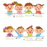 Studera barn Arkivbild