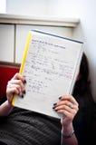 studera för flicka Royaltyfri Foto