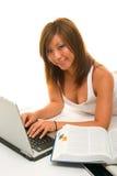 studera för flicka arkivfoton