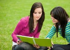 studera för flickor Royaltyfri Foto