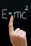 studera för fysik royaltyfri fotografi