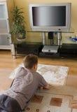studera för pojkeöversikt Royaltyfri Fotografi