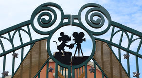 Studi del Walt Disney, Parigi Immagine Stock Libera da Diritti