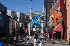 Studi universali della passeggiata della città, Hollywood Fotografie Stock