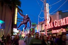 Studi universali Hollywood Citywalk fotografia stock libera da diritti