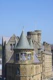 studia uniwersyteckie budynku Welsh Wales Obrazy Royalty Free