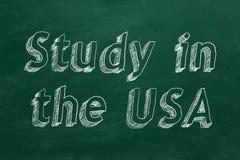 Studie in den USA vektor abbildung