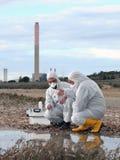 Studie der Umweltverschmutzung stockfotos